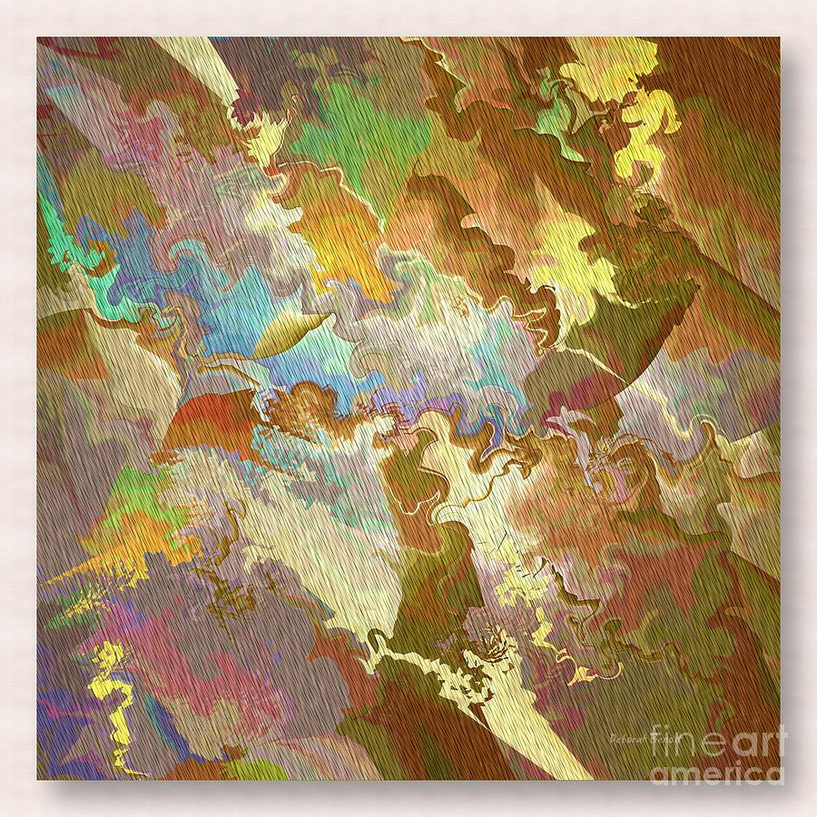 Abstract Photograph - Abstract Puzzle by Deborah Benoit