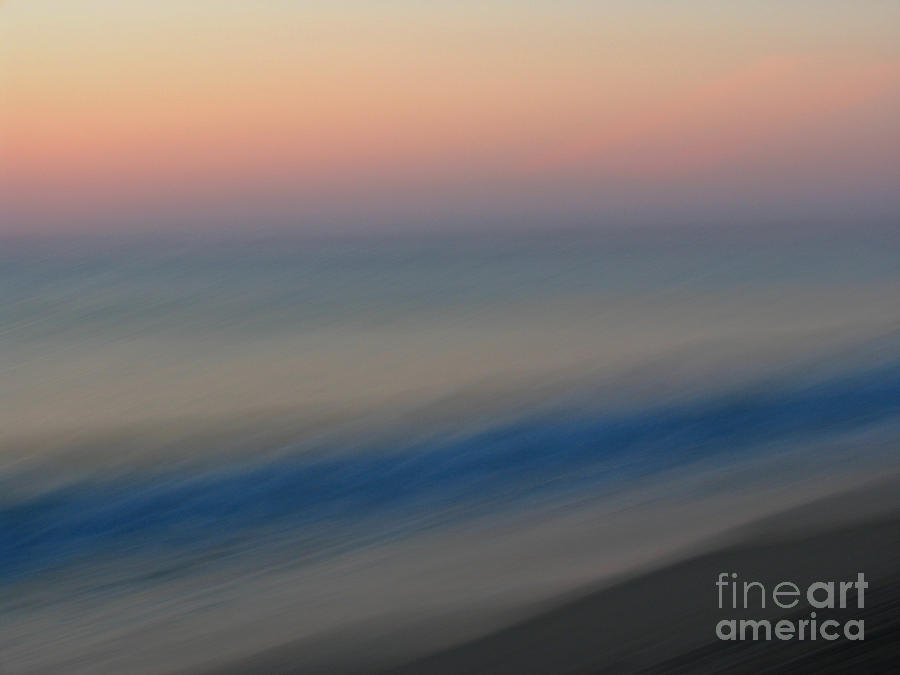 Abstract Seascape 1 Photograph  - Abstract Seascape 1 Fine Art Print