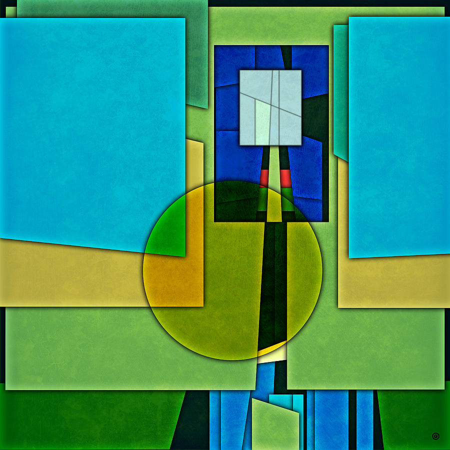 Abstract Shapes Color Two Digital Art