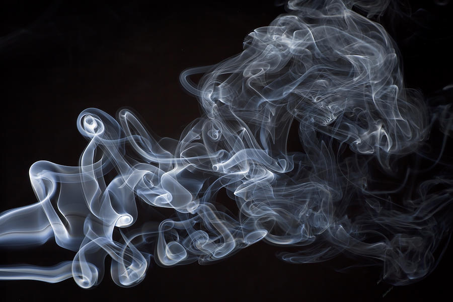 Abstract Photograph - Abstract Smoke Running Horse by Setsiri Silapasuwanchai