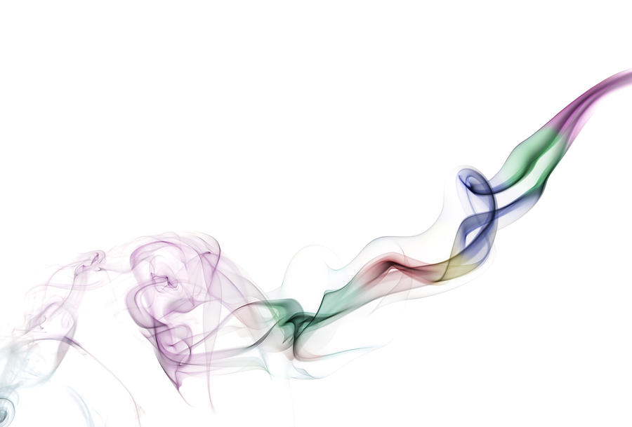 Abstract Smoke Photograph