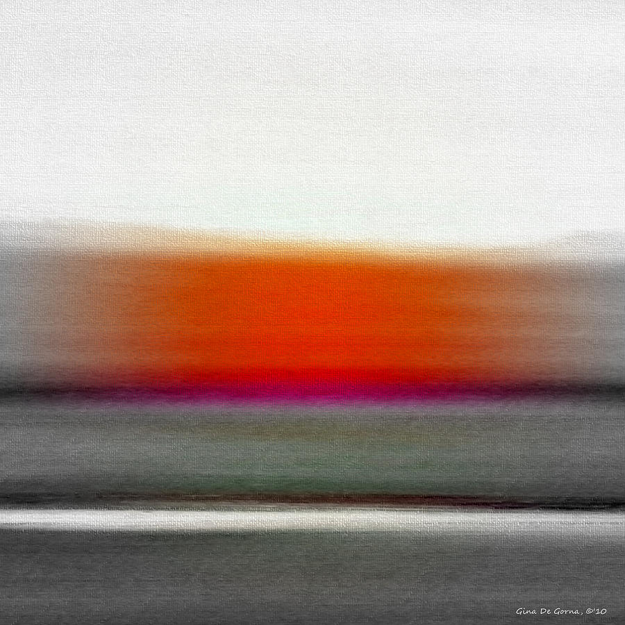 Abstract Sunset 669 Painting  - Abstract Sunset 669 Fine Art Print