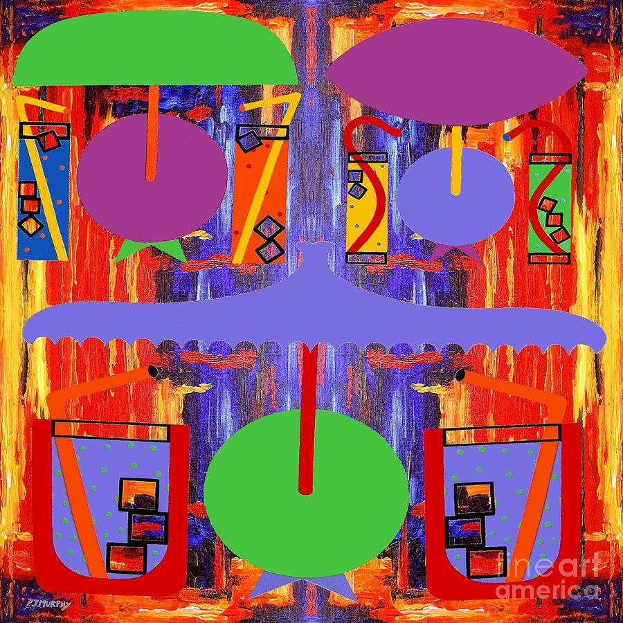 Abstraction 177 Painting  - Abstraction 177 Fine Art Print