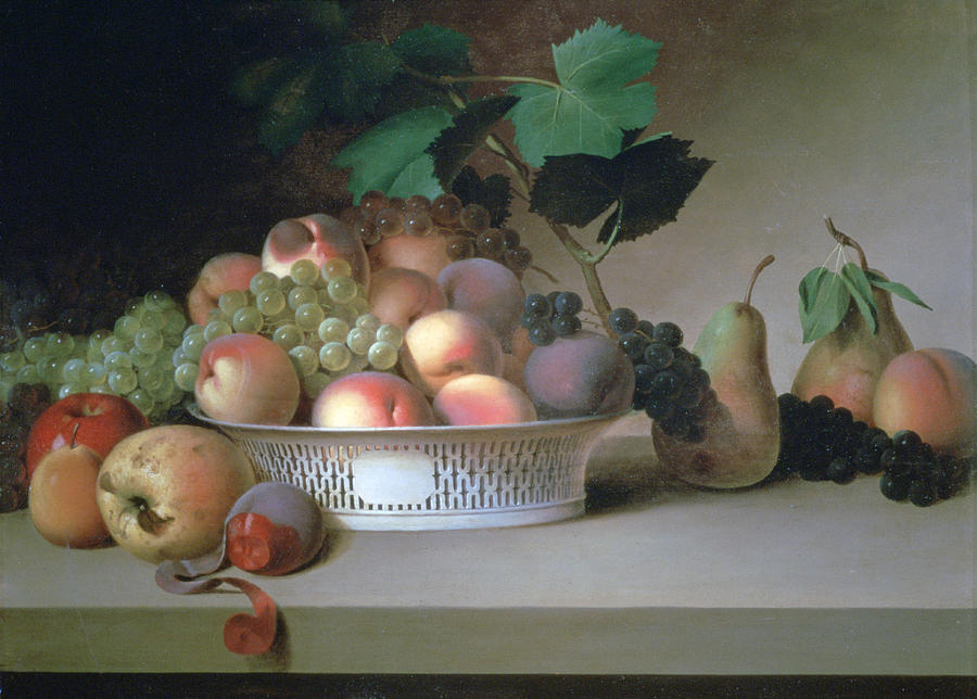 abundance Of Fruit Painting Photograph