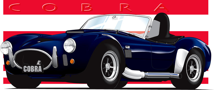 Ac Cobra Digital Art