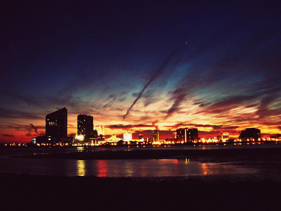 Atlantic City Skyline Prints
