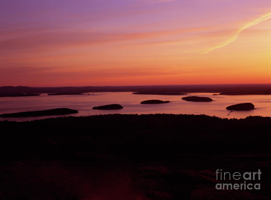 Acadia National Park Maine - Frenchman Bay Photograph  - Acadia National Park Maine - Frenchman Bay Fine Art Print