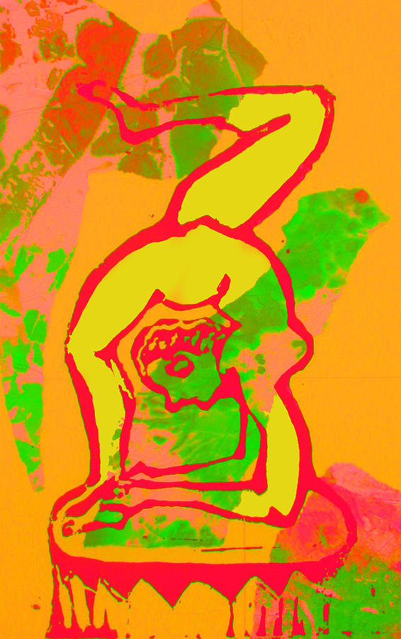 Acrobat 1 Mixed Media  - Acrobat 1 Fine Art Print