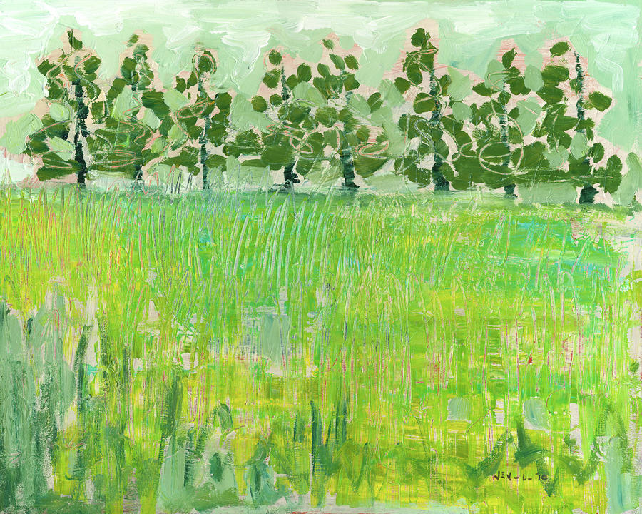 Across The Meadow Painting