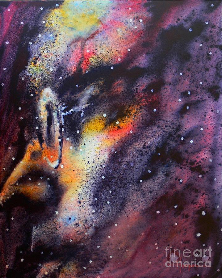 Across The Universe Painting  - Across The Universe Fine Art Print