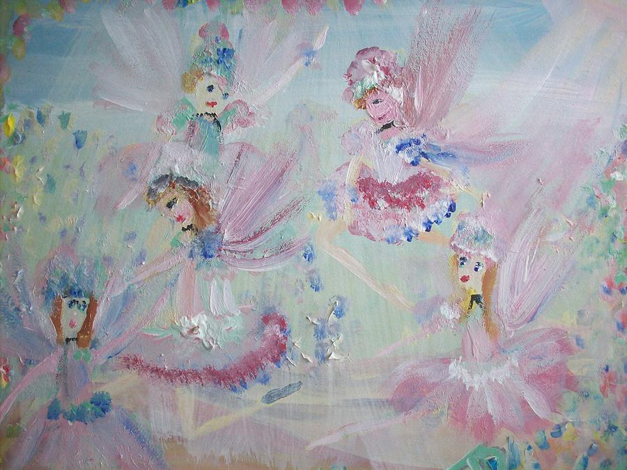 Act  Two Fairies Painting