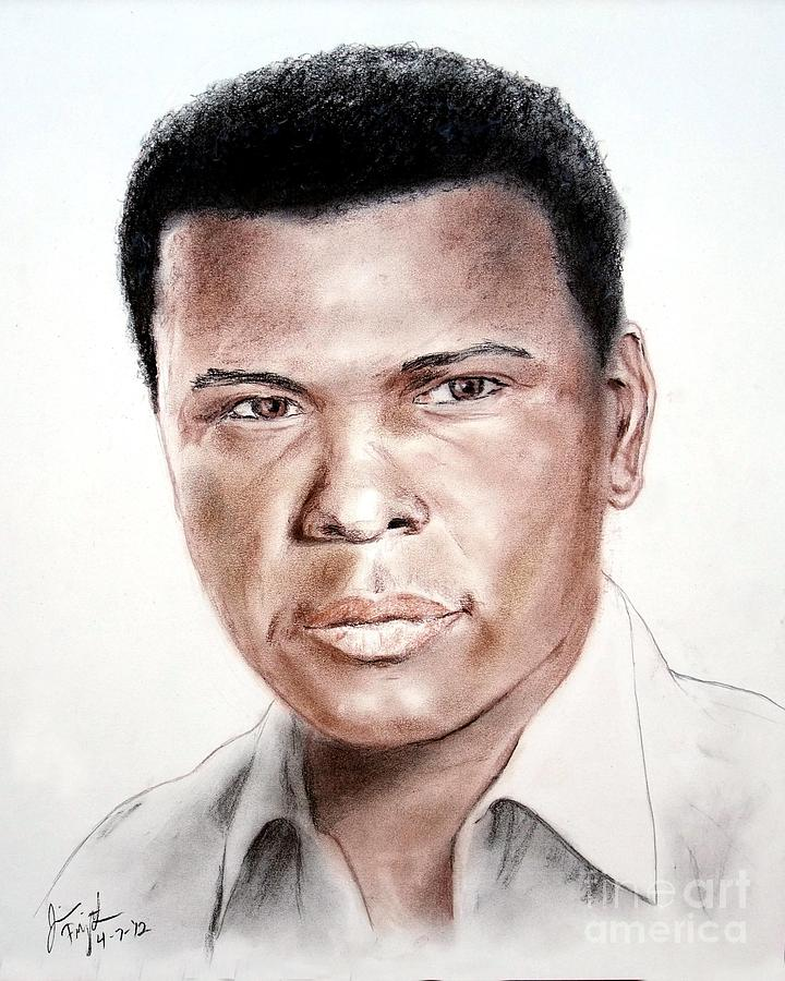 Actor Sidney Poitier Drawing