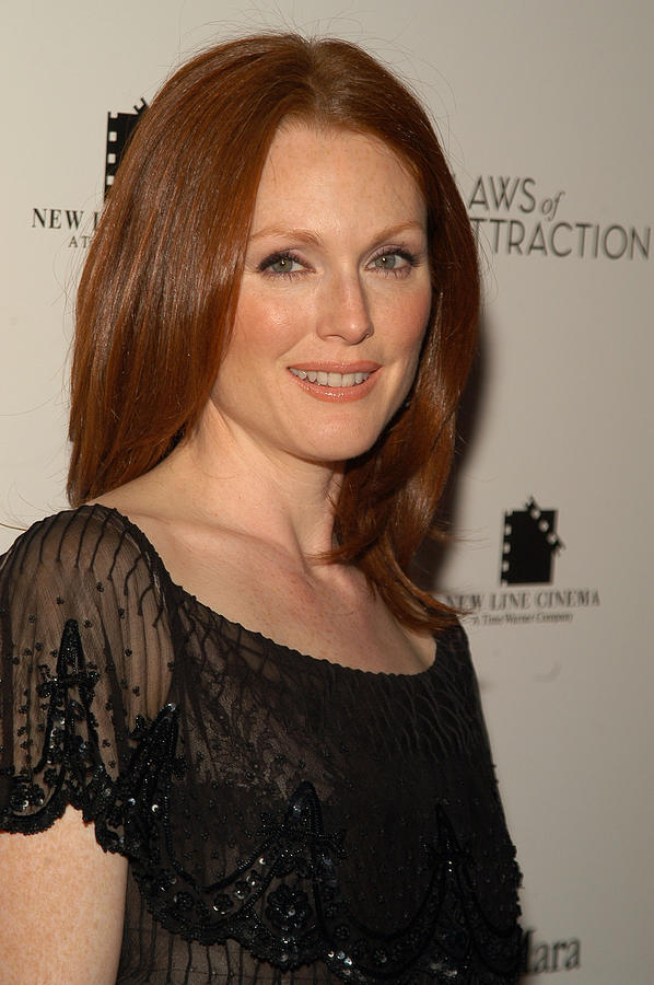 2000s Portraits Photograph - Actress Julianne Moore Attends by Everett