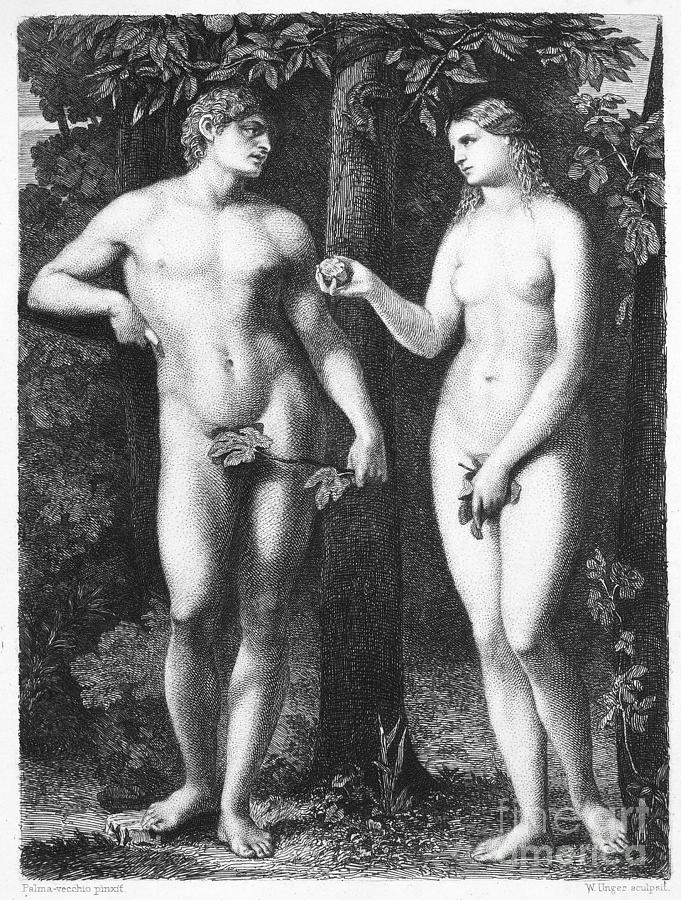 Adam & Eve Photograph
