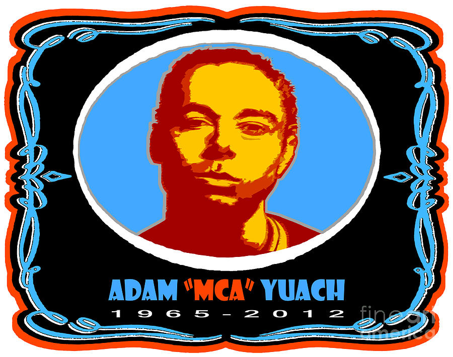 Adam Mca Yuach Tribute Artwork Digital Art  - Adam Mca Yuach Tribute Artwork Fine Art Print