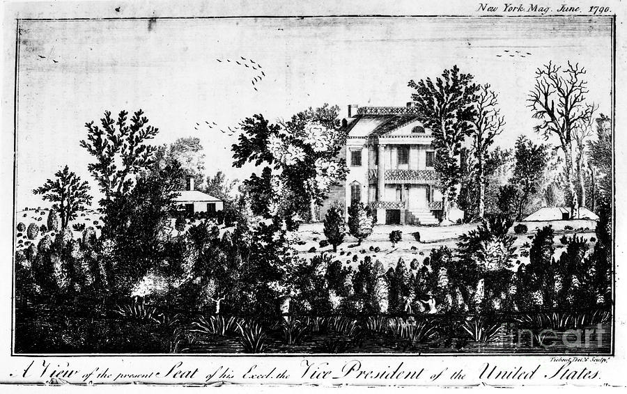 Adams: Home, C1790 Photograph  - Adams: Home, C1790 Fine Art Print
