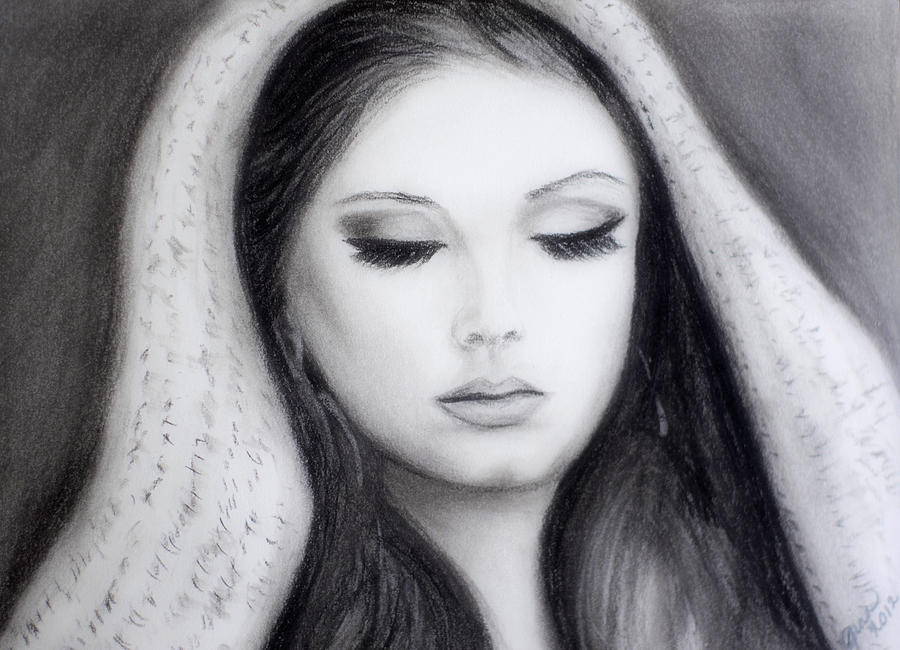 Adele Drawing  - Adele Fine Art Print