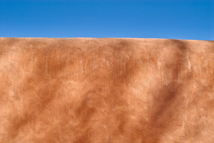 Adobe Wall Santa Fe Photograph  - Adobe Wall Santa Fe Fine Art Print