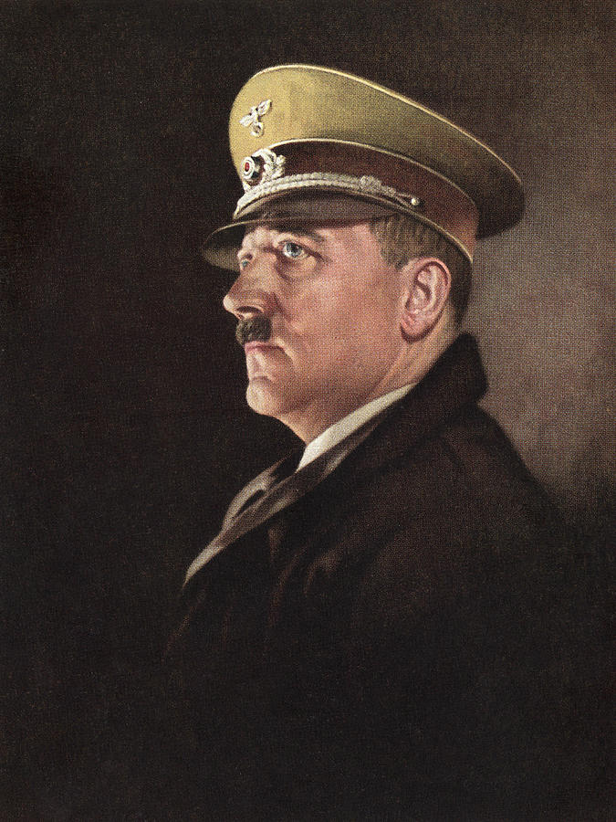 Adolf Hitler, Ca. 1930s Photograph