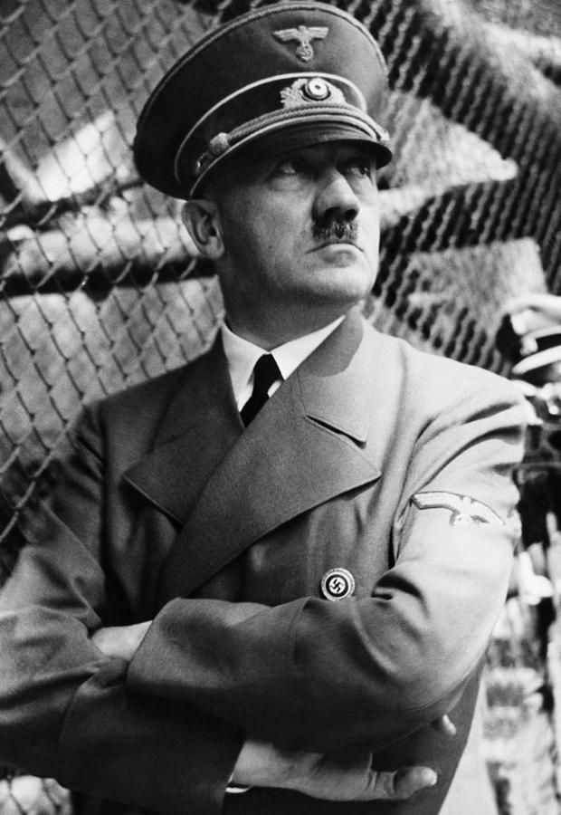 Adolf Hitler, Ca. Late 1930s Photograph  - Adolf Hitler, Ca. Late 1930s Fine Art Print