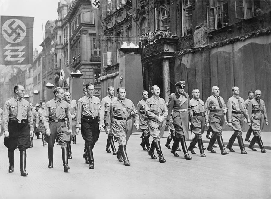 Adolf Hitler, Hermann Goering Photograph