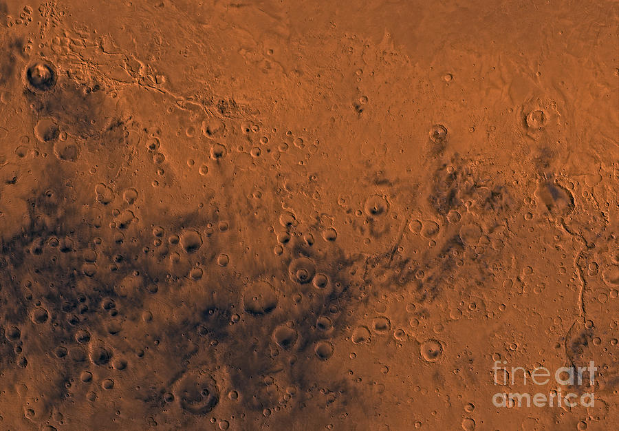 Aeolis Region Of Mars Photograph  - Aeolis Region Of Mars Fine Art Print