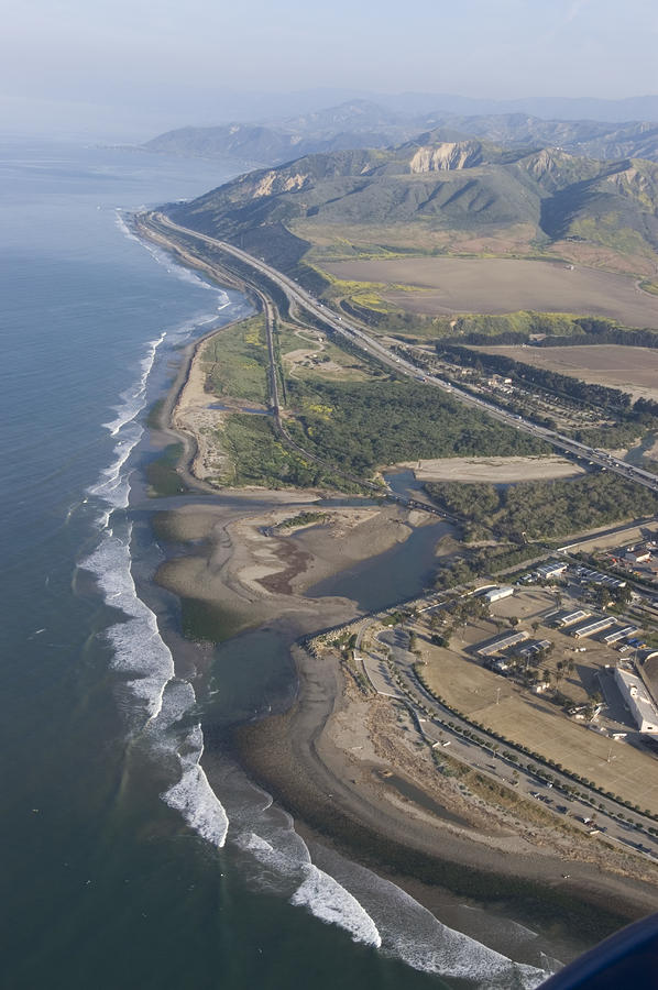 Aerial View Of Ventura Point, Ventura Photograph