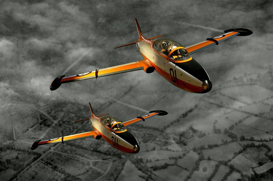 Aermacchi In Flight Photograph