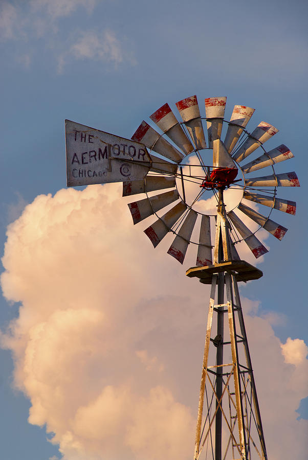 Aermotor Windmill is a photograph by Shala Stevenson which was ...