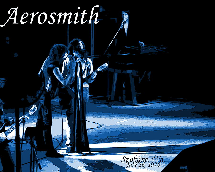 Aerosmith In Spokane 12c Photograph