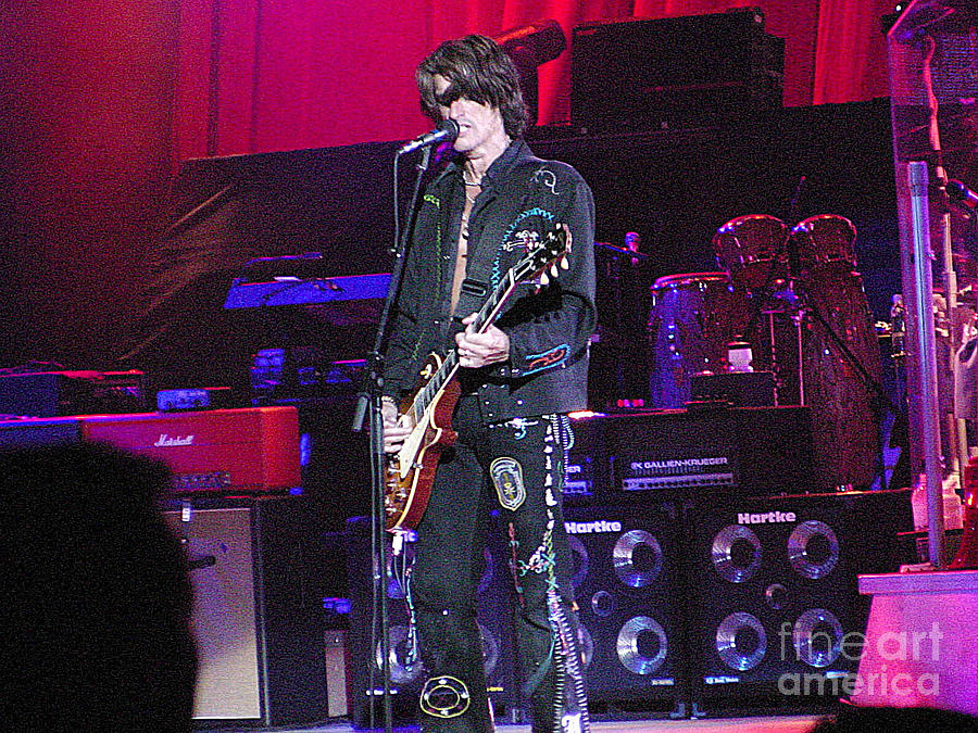 Aerosmith-joe Perry-00022 Photograph