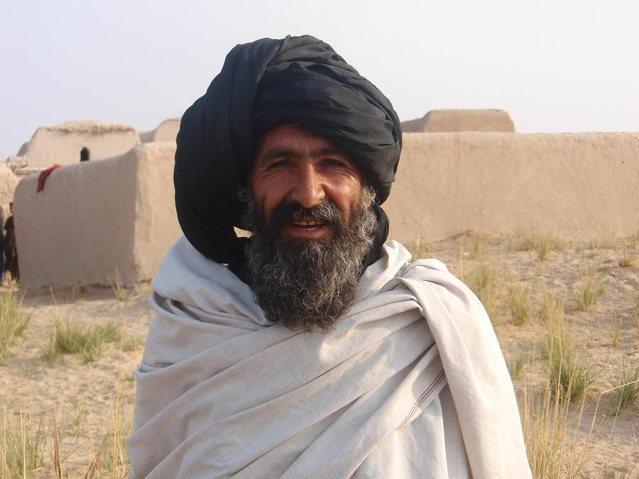 Afghani Farmer Photograph