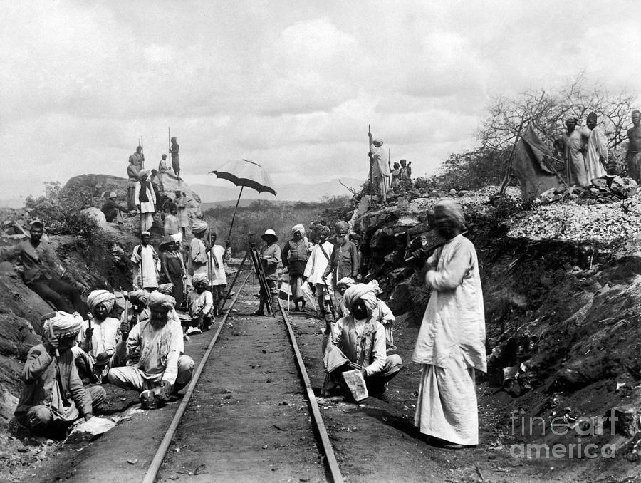 Africa: Railway, C1905 Photograph