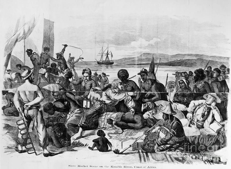 Africa: Slave Trade, C1840 Photograph