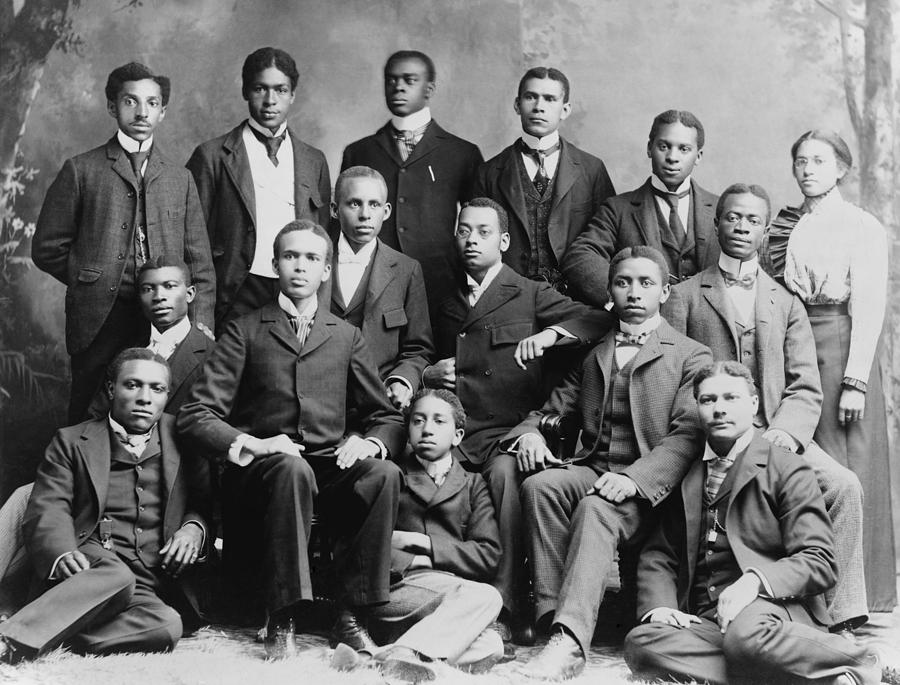 African American Academic Students Photograph  - African American Academic Students Fine Art Print