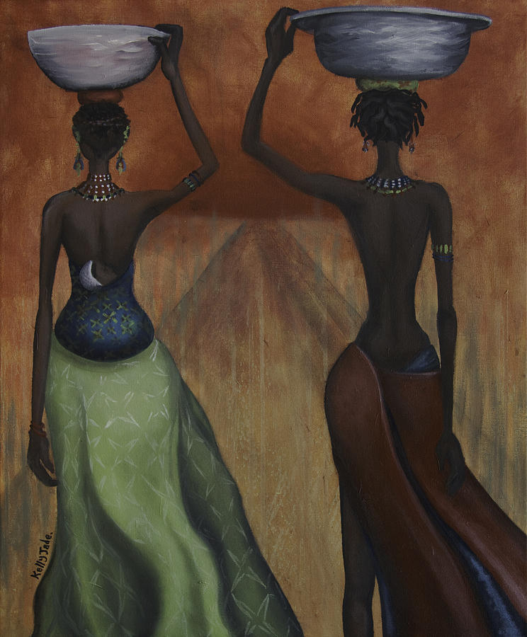 African Desires Painting
