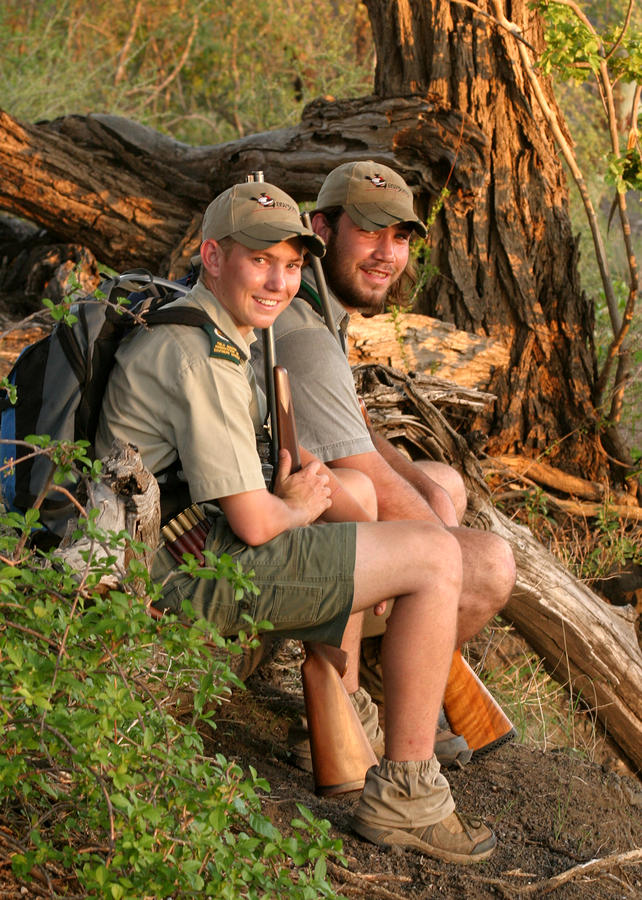 African Game Guides Photograph