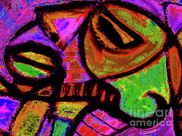 African Mask II Painting