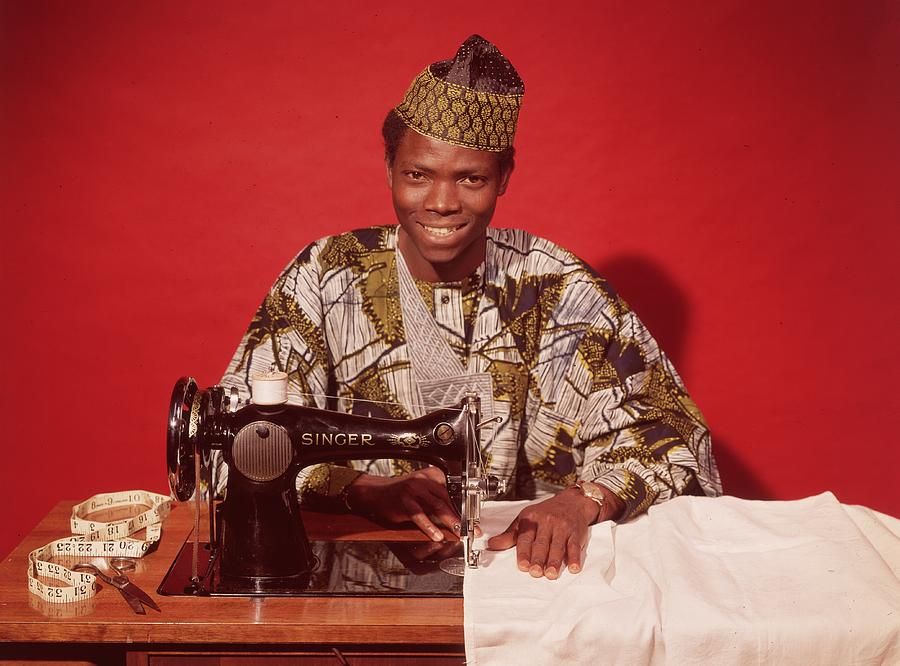 African Textile Photograph