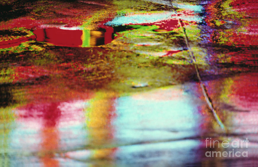After The Rain Abstract 2 Photograph  - After The Rain Abstract 2 Fine Art Print