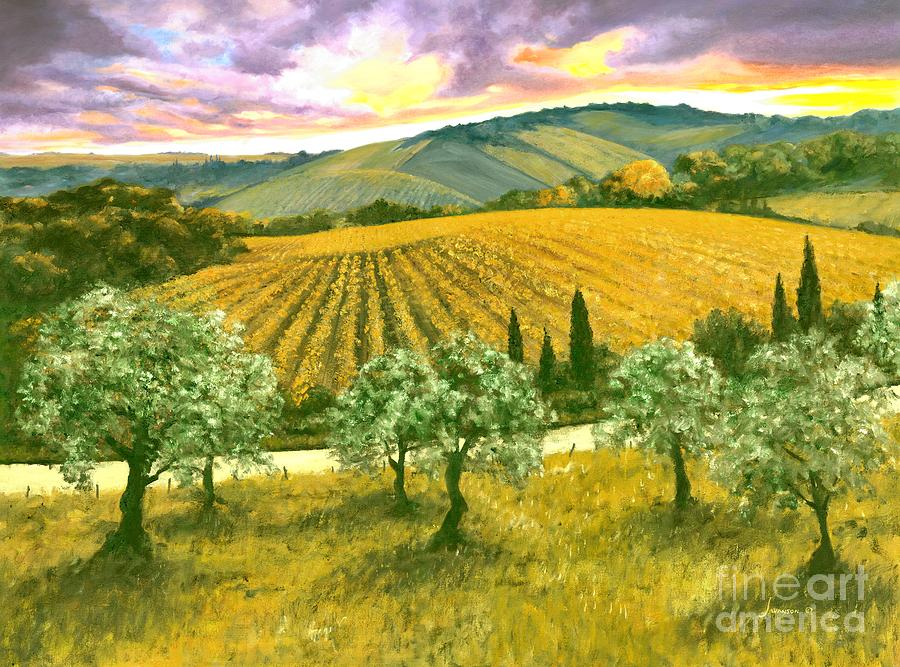 Italy Painting - After The Storm Orig. For Sale by Michael Swanson