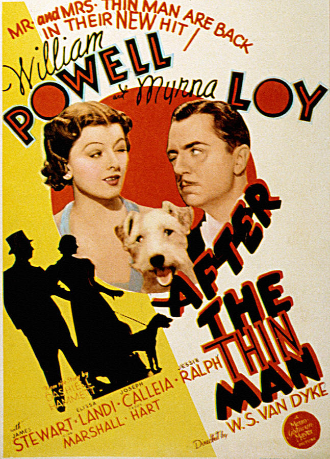 After The Thin Man, Myrna Loy, Asta Photograph