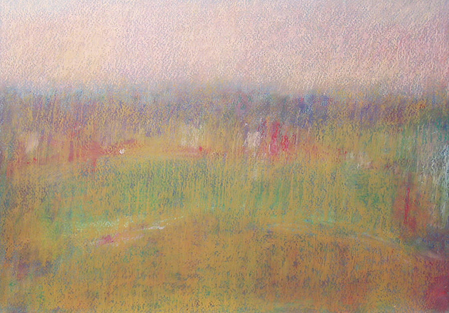 Afternoon Landscape I Pastel