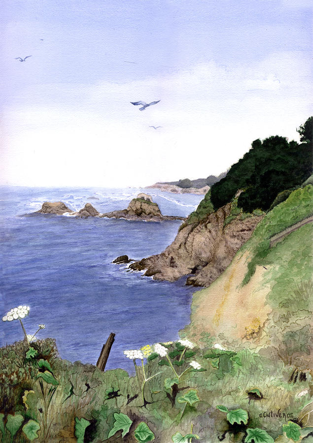 Agate Cove Painting