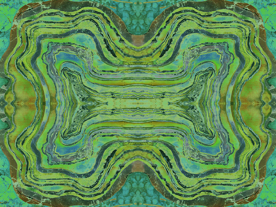 Agate Inspiration - 24 B  Tapestry - Textile