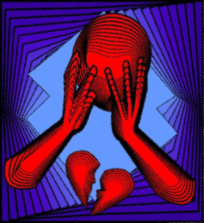 Agony Digital Art