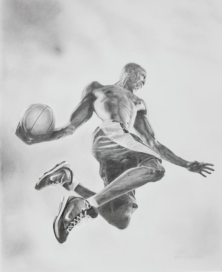 Air Ball Drawing  - Air Ball Fine Art Print