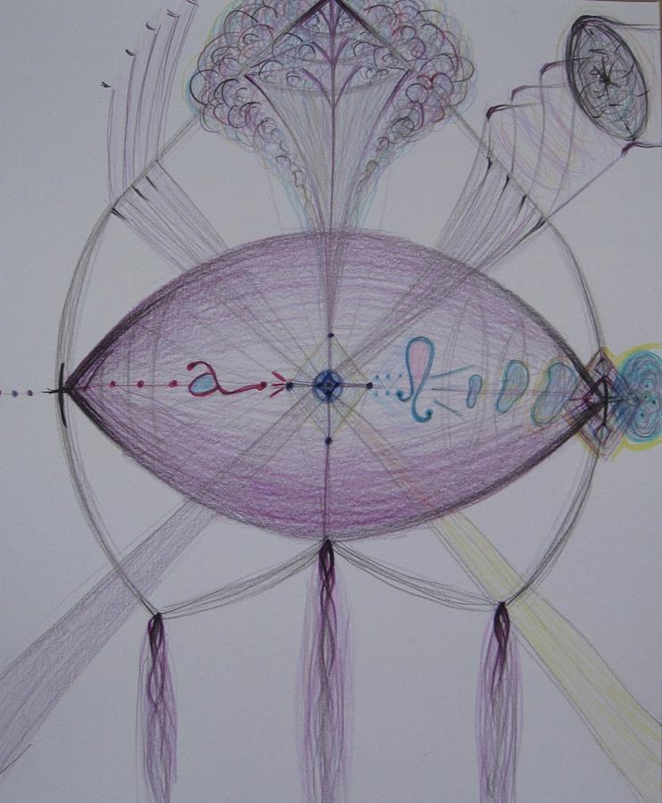 Drawing - Airborne by Elena Soldatkina