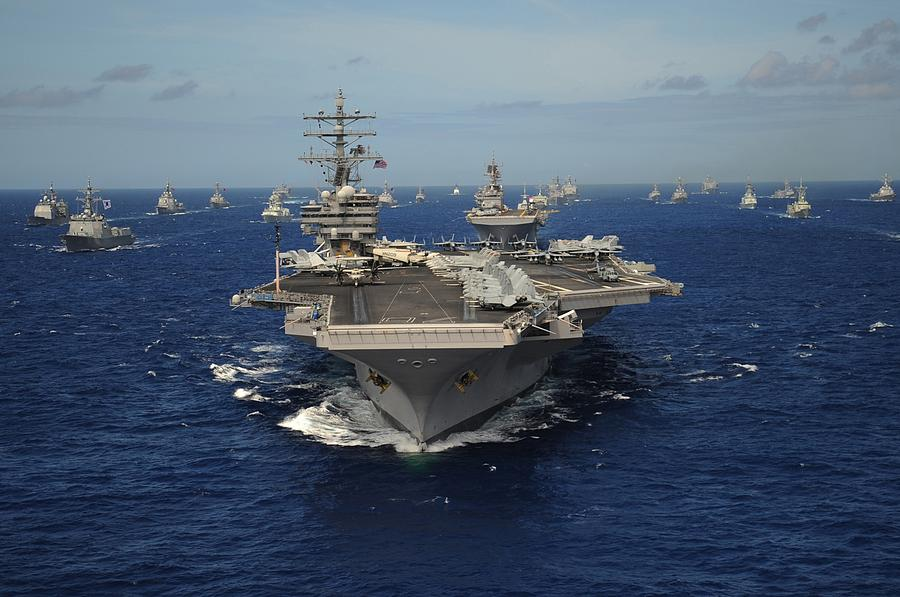 Aircraft Carrier Uss Ronald Reagan Photograph