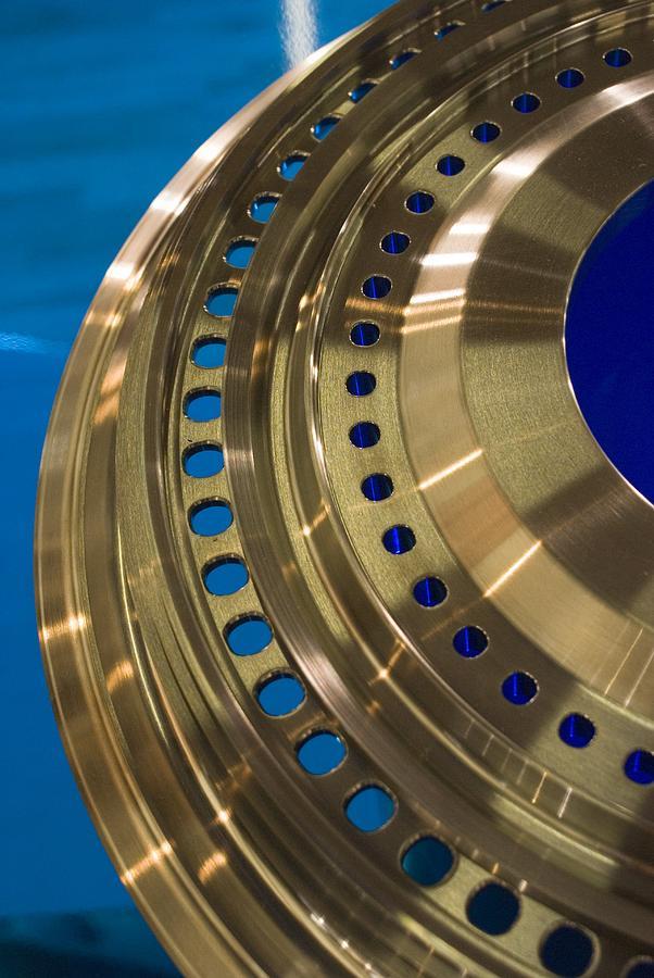 Aircraft Engine Component Photograph